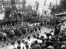 Kreisparteitag 1935: Vorbeimarsch des Deutschen Jungvolkes