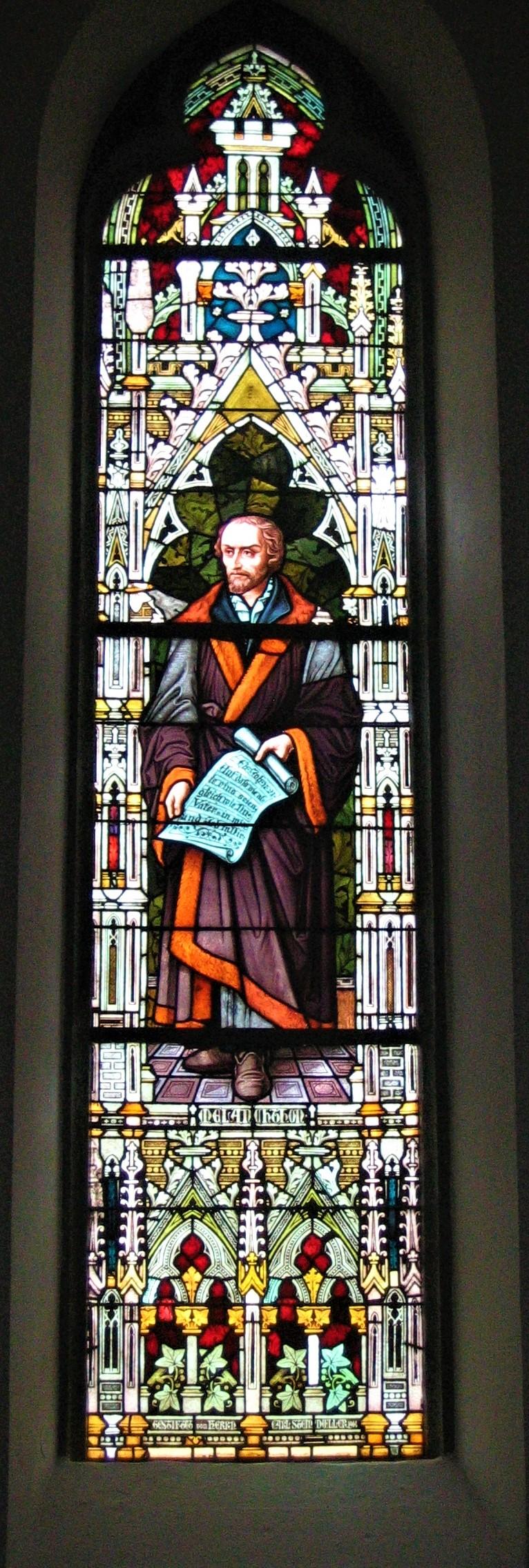 Evangelische Kirche Gummersbach, Fensterbild