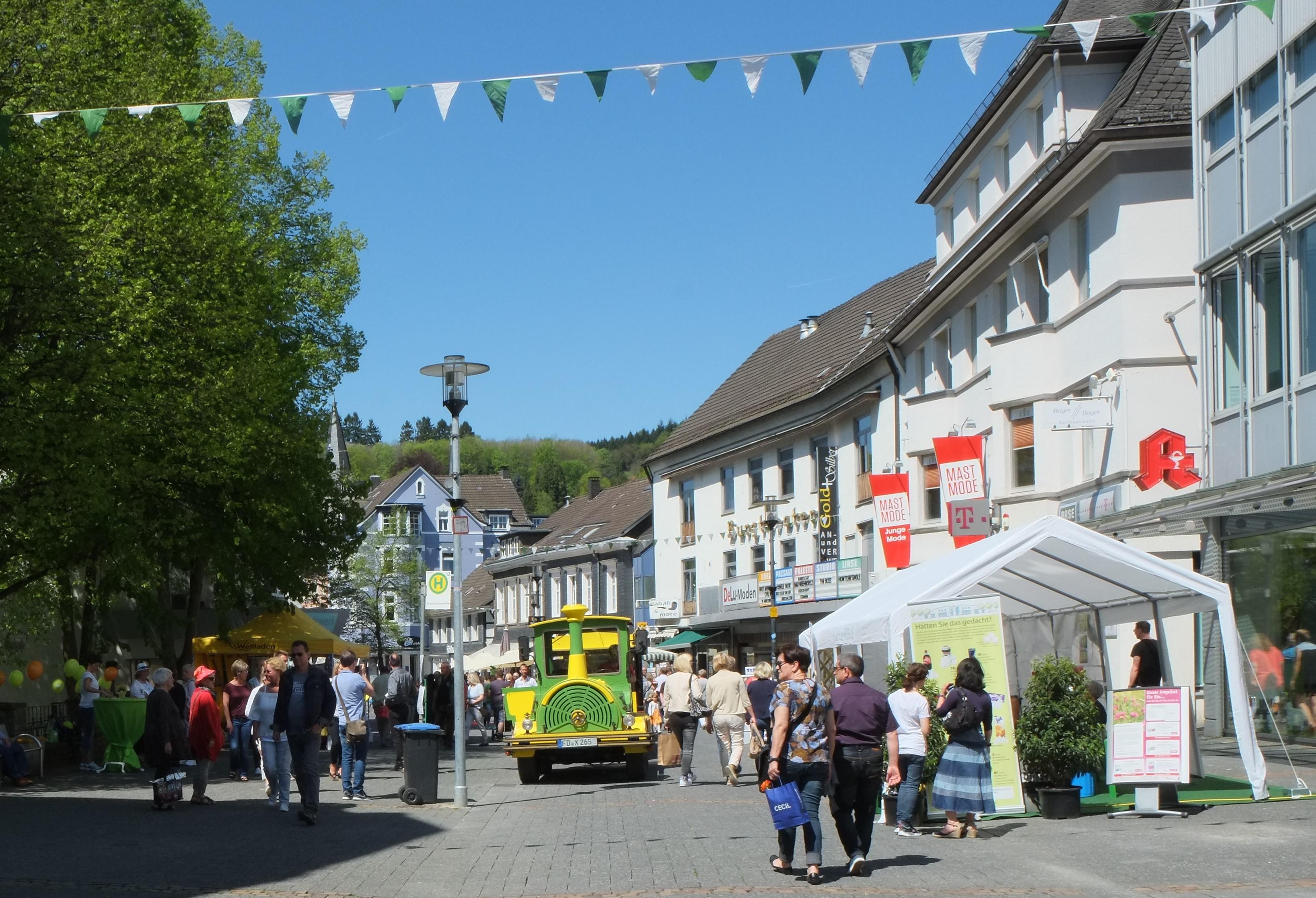 Frühlingsfest in Gummersbach - Frühlingsexpress