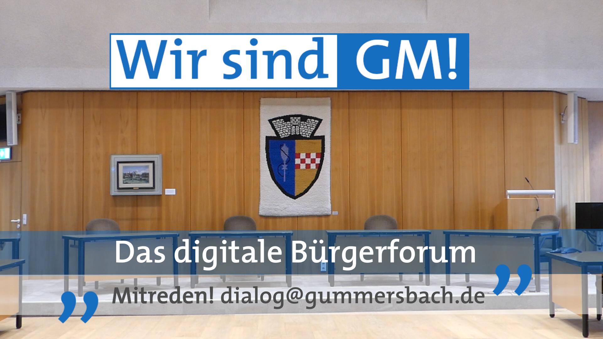 Wir sind GM! - Das digitale Bürgerforum